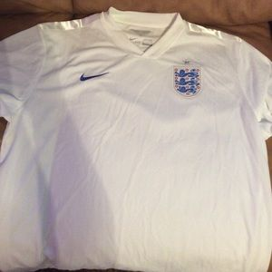 Authentic England Nike Soccer Jersey